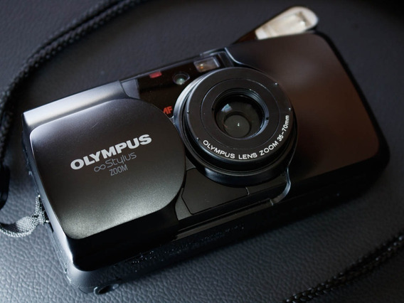 Câmera ( Revisada ) Mju Olympus Stylus Zoom