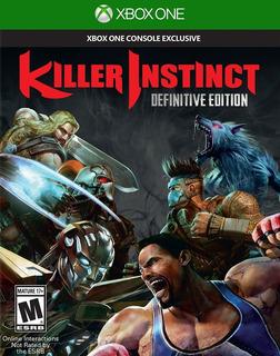 Killer Instinct Definitive Xboxone Fisico Nuevo Todospersona