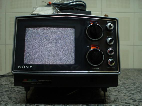 ** Televisão Portatil Sony Kv-5100 Analógica **