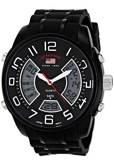 Polo Assn. Sport Us9484 Reloj Analógico Y Digital De Cuarzo