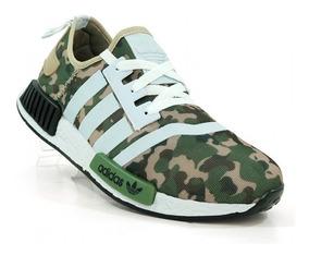 Tenis adidas Nmd Trail Camuflado Militar