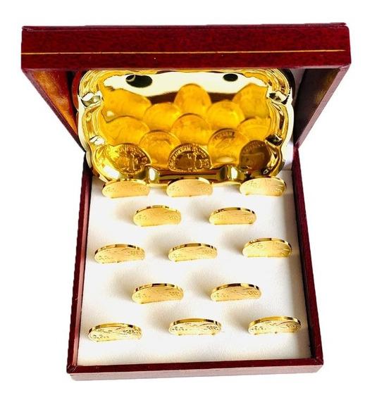 Arras De Matrimonio En Oro Lam De 24k