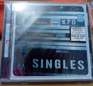 Cd Maroon 5- Singles