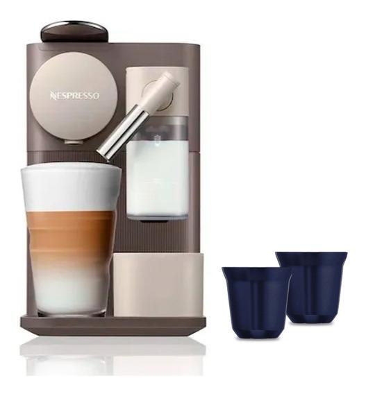 Cafetera Nespresso Lattissima One Color Mocha