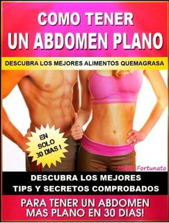 Abdomen Plano En 30 Días Ejercicios Quema Grasa Dieta Fitnes