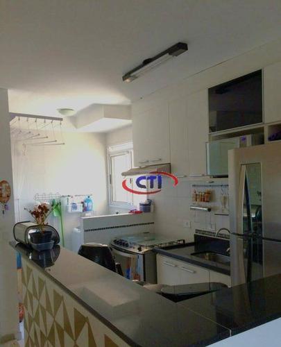 Imagem 1 de 7 de Apartamento À Venda, Vila Homero Thon, Santo André. - Ap2037