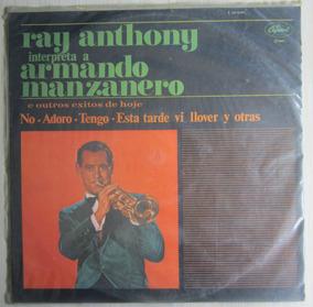 Lp Ray Anthony Interpreta Manzanero