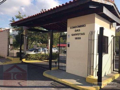 Apartamento Com 2 Dormitórios À Venda, 45 M² Por R$ 195.000,00 - Jardim Da Glória - Cotia/sp - Ap0246