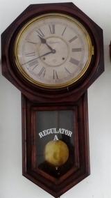 Relogio Regulator Ansonia