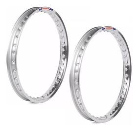 Aros Motos Aluminio Motard Med2.50 Aro 18 Titan 125/150 Par