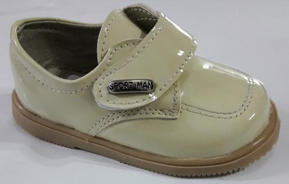 Zapatos Beige Bautismo, Cortejo, Fiesta Varón Cari Bambini