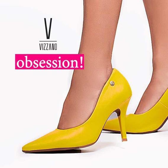 Stilettos Amarillos Taco Luis Xv