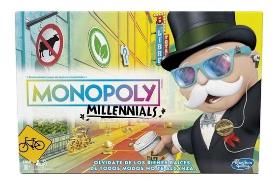 Hasbro Gaming E4989 Juego De Mesa Monopoly Edición Millennia