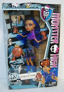 Muñeca Monster High Art Class Robecca Steam Nib Dolls