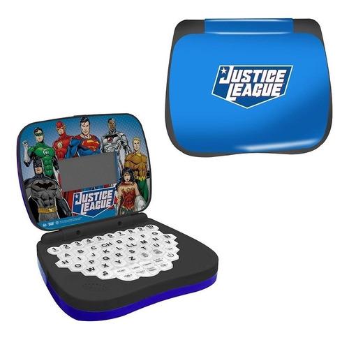 Laptop Infantil Bilíngue Dc Liga Da Justiça Candide 9620