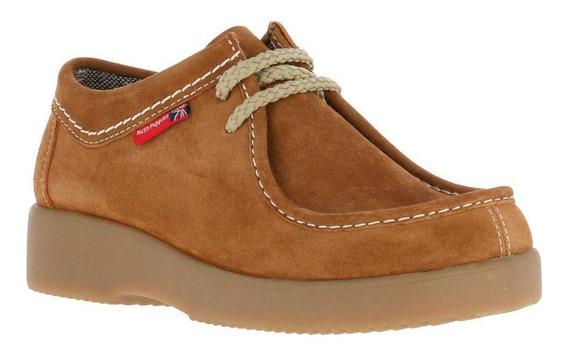 Zapato Cuero Navajo Café
