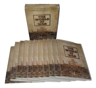 The World At War Coleccion 11 Dvds Documental A&e Wwii +++