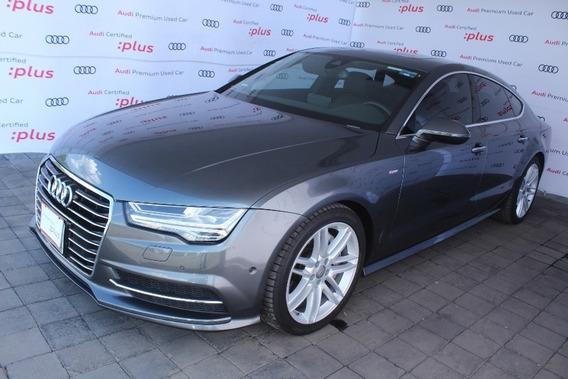 Audi A7 S Line 3.0t Quattro Aut Negro 2016