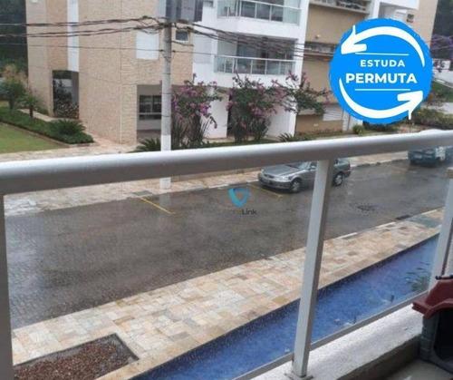 Imagem 1 de 24 de Apartamento Com 3 Dormitórios À Venda, 103 M² Por R$ 650.000,00 - Alphaville Granja Viana - Cotia/sp - Ap1769