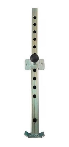 Pedestal Aço Reboque Carretinha Trailher Carreta Carrocinha