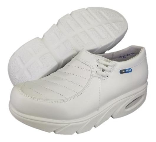 Zapatos Para Enfermera Profesional Con Camara De Aire 4022