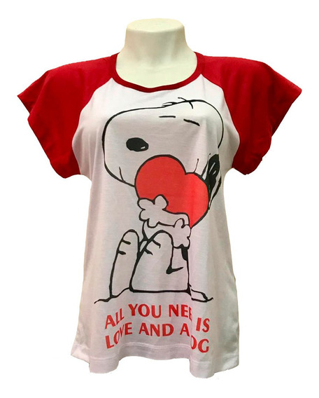 Baby-look Snoopy - All You Need Is Love And A Dog