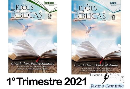 Kit Revistas Lições Bíblicas Adulto 10 Alunos + 2 Professor