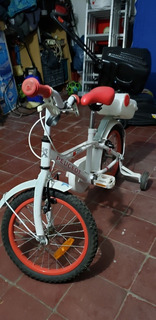 Bicicleta Marca Peugeot Rodado 16 Para Niños