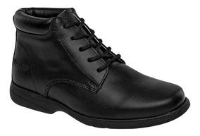 Zapato Escolar Juvenil Marca Elefante Piel 10008-001 Dgt