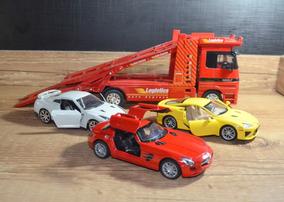 Cegonha 1/32 Welly + Mercedes + Gtr + Lexus Lfa