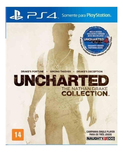 Uncharted: The Nathan Drake Collection Sony PS4 Digital