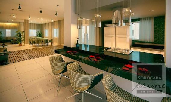 Oportunidade Apartamento Com 3 Dormitórios À Venda, 89 M² Por R$ 449.760 - Condomínio Residencial Winner - Sorocaba/sp, Valor Promocional Ligue Já. - Ap0202