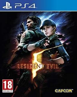 Resident Evil 5 2° Ps4 Entrega Ya!