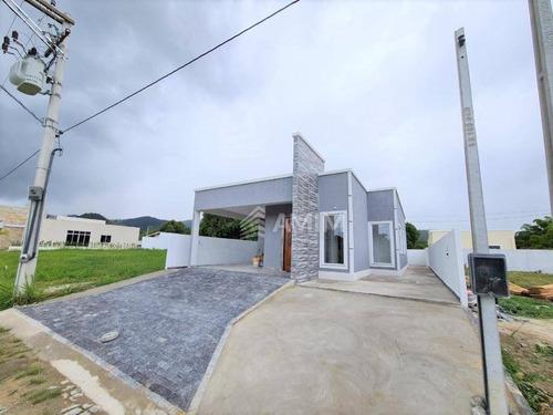 Maricá, Casa Em Condomínio, 3 Quartos, 1 Suíte, 2 Vagas. - Ca0815