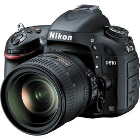 Nikon Dslr D610 24.3mp - Full Frame C/lente 24-85 C/n.fiscal