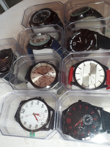 Kit 3 Relógios De Luxo Masculinos E Femininos