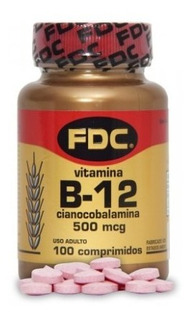 Vitamina B-12 Fdc Fdc 100 Comprimidos