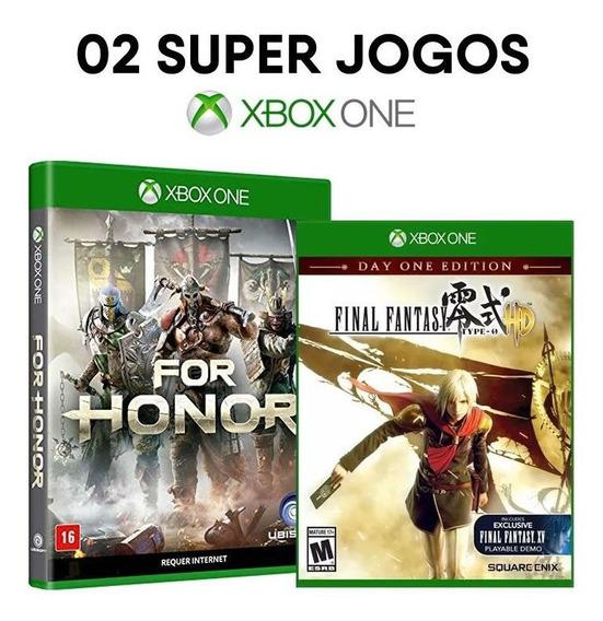 For Honor + Final Fantasy - Xbox One - [ Mídias Lacradas ]