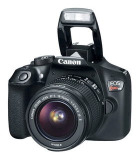 Cámara Canon T6 Wi-fi Nfc Con Lente Zoom 18-55 Stm