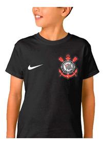 Camiseta Personalizada Infantil Corinthians Com Seu Nome