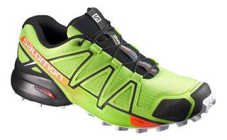Zapatillas Salomon Speedcross 4 Outdoor Ver/neg De Hombre