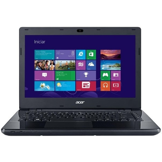 Notebook Acer Aspire E5-471 Preto Usado