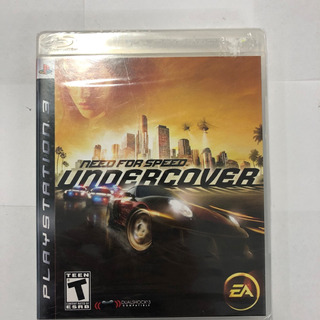 Juego Ps3 Need For Speed Undercover Carreras