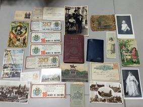 Documentos Raros Miscelanea Postais Fotos Dezenas De Peças