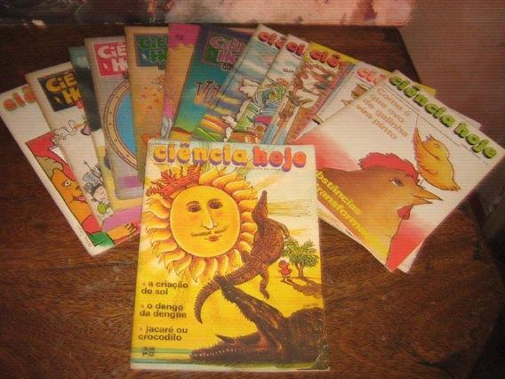 Revista Ciencia Hoje Ano 1983/1991 Lote Com 15 Edições
