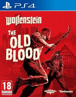Wolfenstein The Old Blood Ps4 Nuevo Fisico Sellado