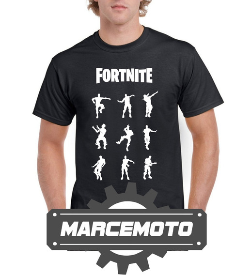 Remera Fortnite Bailes Marcemoto