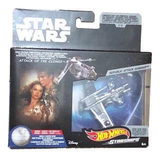 Star Wars Hot Wheels Commemorative Republic Attack Gunship