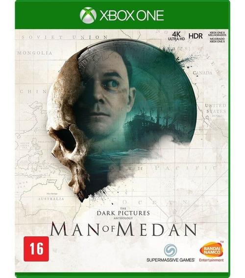 The Dark Pictures Man Of Medan Xbox One Seminovo Midia Fisic