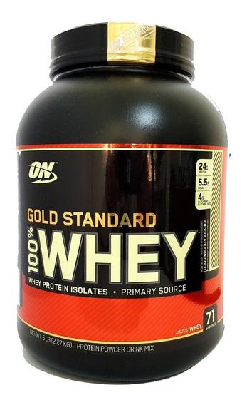 Proteina Optimum Nutrition Gold Standard 100% Whey 5 Lb (2.27 Kg) Envio Gratis